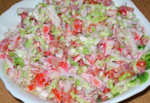 рецепты крабовое мясо