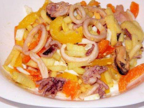 Вкусный несложный салат рецепт пошагово 92